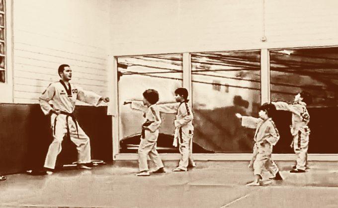 Taekwondo – Gui e Biel