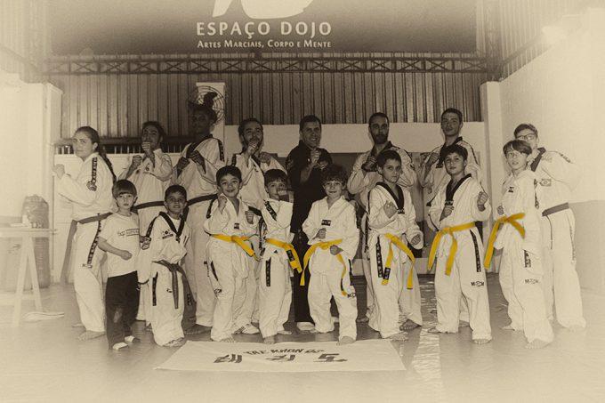 Taekwondo – Troca de Faixa