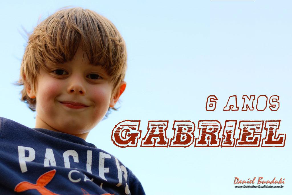 Gabriel Bunduki – 6 anos