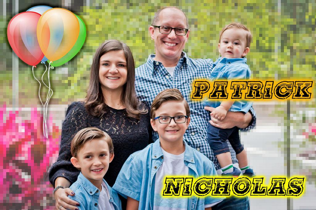 Patrick e Nicholas – 1 e 9 anos